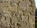 Bearbeitungsstrukturen im Sandstein