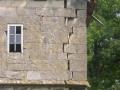 Gebäuderiss (vor Sanierung)