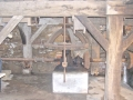 334. E 1 Blick auf den Unterbau des Mehlganges v. SO